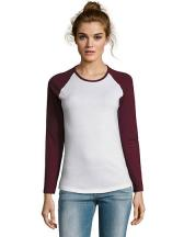 Women`s Milky Long Sleeve T-Shirt